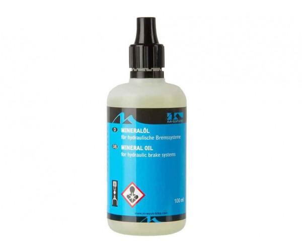 Смазка M-WAVE масло минеральное для гидравлических тормозов 100 мл