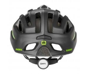 Шлем MIGHTY BLACK HAWK черно-зеленый