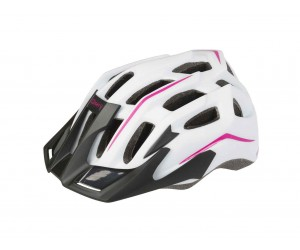 Шлем MIGHTY WHITE HAWK бело-розовый
