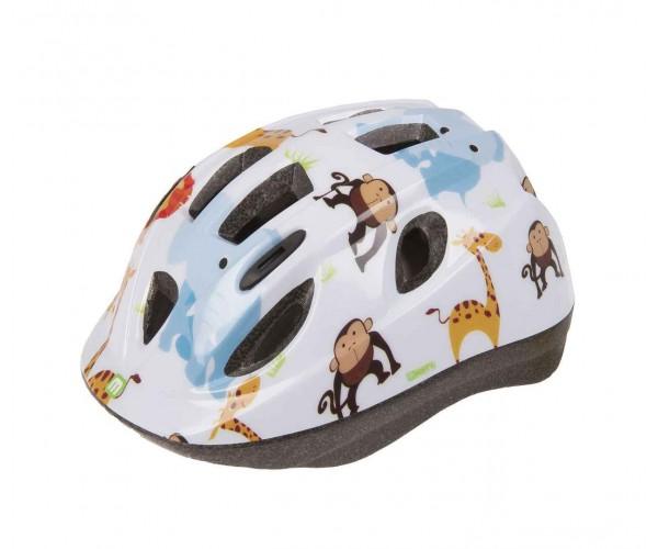 Шлем детский MIGHTY ZOO белый