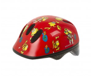 Шлем детский VENTURA FROG красный